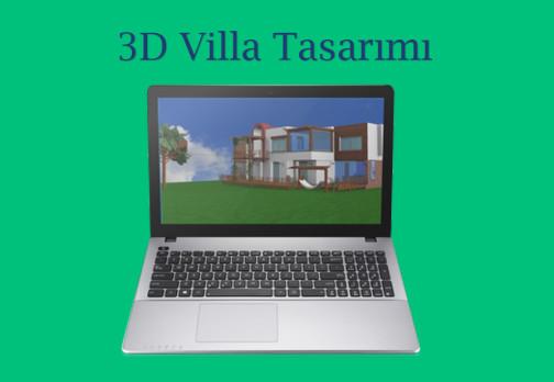 3D Villa Tasarımı