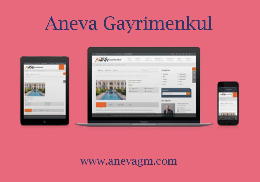 Aneva Gayrimenkul – Web Sitesi
