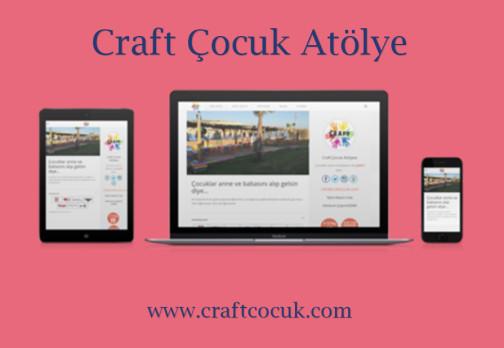 Craft Çocuk Atölye – Web Sitesi