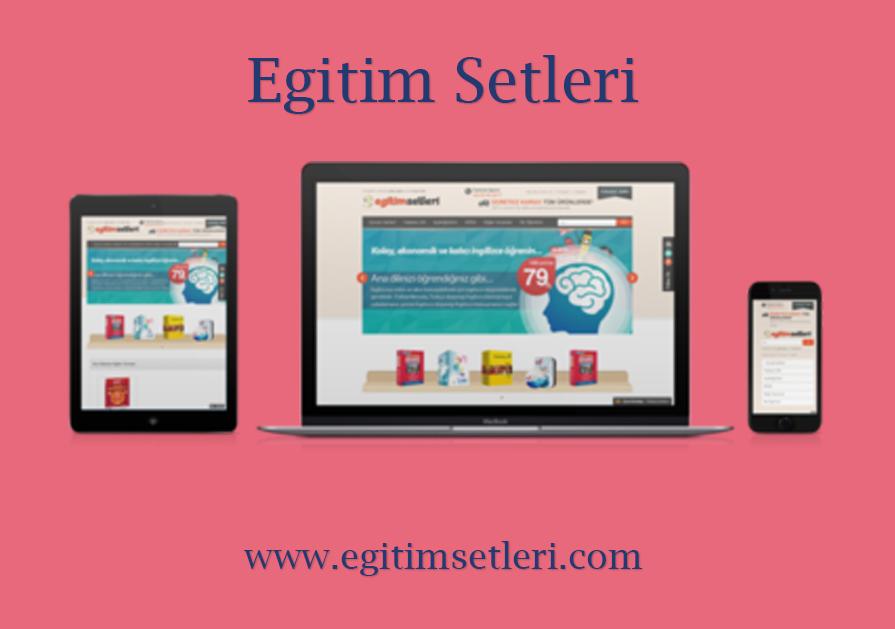 Eğitim Setleri – Web Sitesi