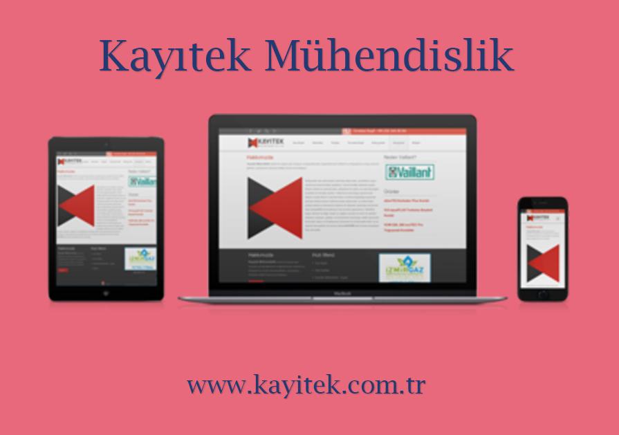 Kayıtek Mühendislik – Web Sitesi
